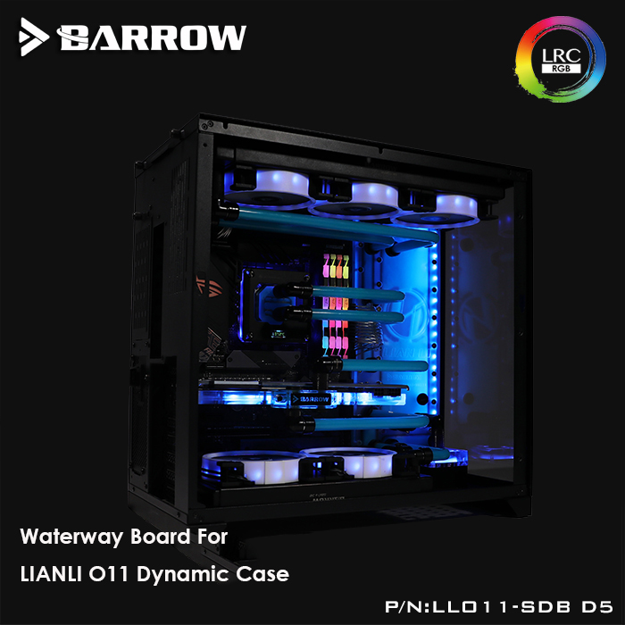 LLO11-SDB D5 Barrow watercooling Waterway Boards for LIANLI O11 dynamic Computer Case LRC 2.0 INTEL Platform sync motherboard