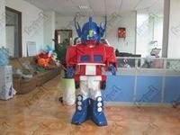 quality transformer mascot costume PU robot costumes