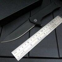 Hot Sale ZT 0804 Ball Bearing Folding Knife Steel G10 Titanium Plating Handle 204P Tactical Survival