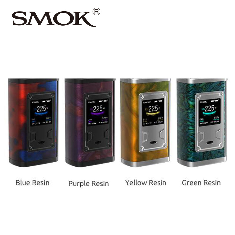 Original SMOK Majesty 225W TC Box MOD W/ 225W Maximum Output No 18650 Battery Electronic Cigarette SMOK Majesty Mod vs Smok Mag original electronic cigarette mod vape pen smoant charon 218w tc box mod mechanical mod leather cover free shipping