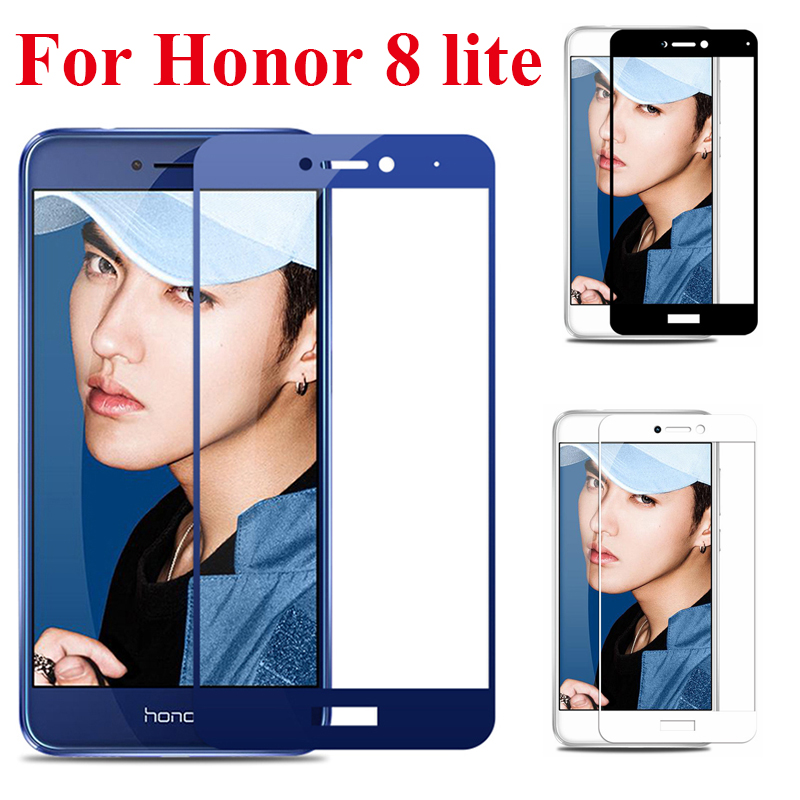 Tempered Glass For Huawei Honor 8 Lite Glass Screen Protector Honor P8 P9 Lite 2017 Cover Honor 8 Light Honor8 8lite Film Glas