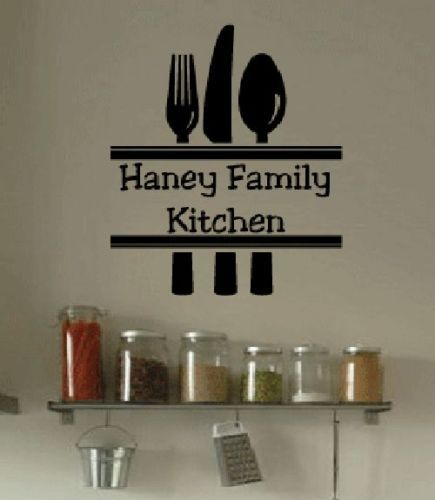 Popular Kitchen Utensil ArtBuy Cheap Kitchen Utensil Art Lots - Custom vinyl wall decals for kitchen
