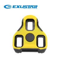 Exustar Road Bike Pedal Cleats E ARC11 7 Deg BLK11