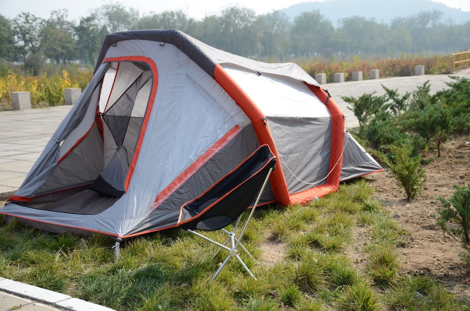 Online buy wholesale inflatable camping tent from china for Outdoor crafts for camping