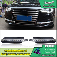 Car Styling DRL kit For Audi A6 A6L C7 2013 2014 2015 LED Daytime Running Lights Super Bright Waterproof Day light DRL