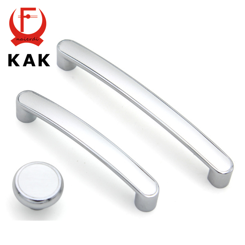 KAK Classical Modern Magnesium-aluminium Alloy Cabinet Door Handles Drawer Wardrobe Pull Handles Knobs 96mm 128mm Hole Distance simple modern door handle drawer cabinet pull wardrobe knobs brush finish gold and silver handles single hole 96 128mm