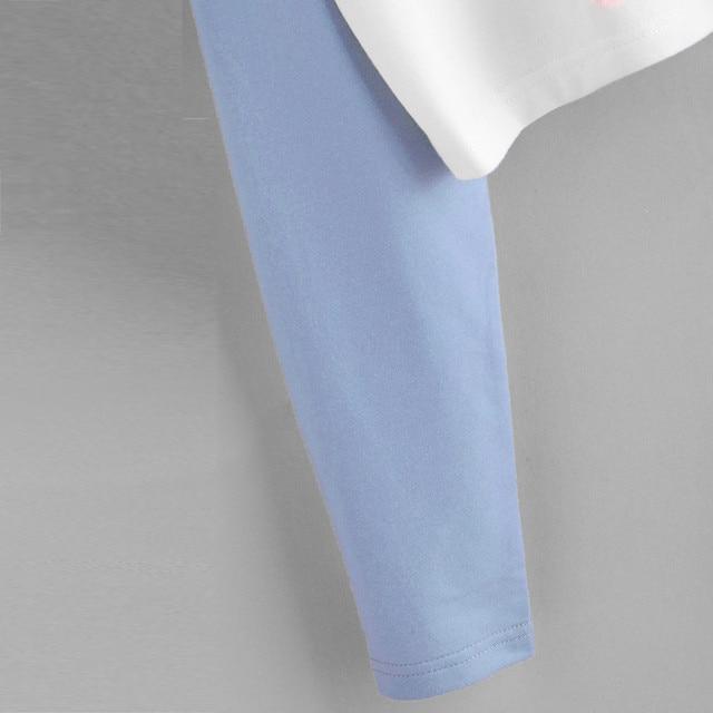 H40 Fashion Patchwork Oversized Hoodie Women Girl Plus Size Sweatshirt Women Hooded Long Sleeve Crop Jumper Pullover Tops