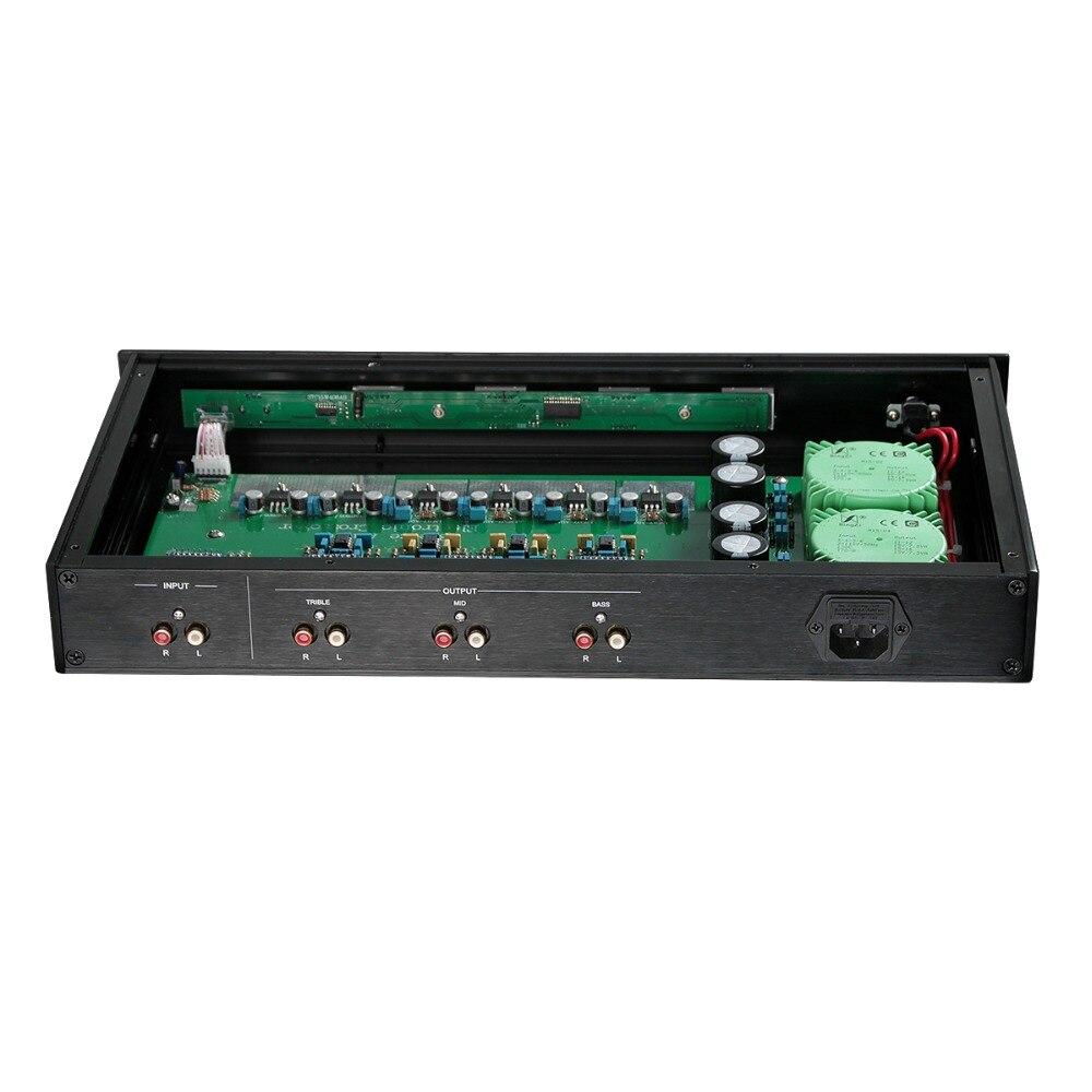 Nobsound haut de gamme Électronique à Trois voies Crossover Linkwitz-riley Hi-Fi 5.1 Canal Pré-Amplificateur inspiré par les ÉTATS-UNIS ESP - 3