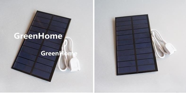 1PC 3.4W 18V 188mA CLIP Mini Solar Panel Module System Epoxy Charger DIY