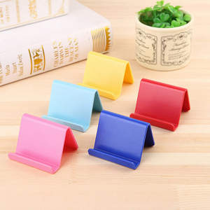 Mini Portable Holder For Smartphone Mobile Phone Holder Candy Color