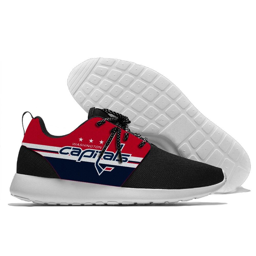 Sport chaussures de course chaussures de marche Hockey Ligue Équipe Capitals de Washington logo Confortable chaussures légères
