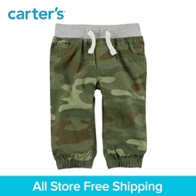 Carter s 1 Piece baby children kids clothing Boy Camo Pull On Canvas Joggers 127G886