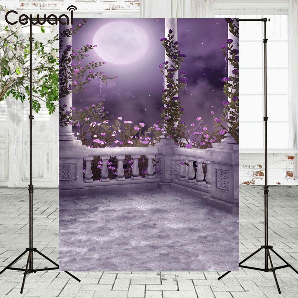 Vid flor Luna Pavilion fotografía telón de fondo foto estudio Bar producto fotografía portátil ligero