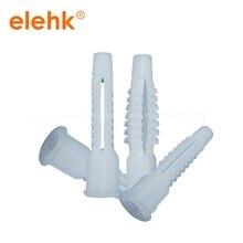 Белый цвет M8/M10 Пластиковые Заглушки для стены полости большого диаметра пластиковые распорные дюбели