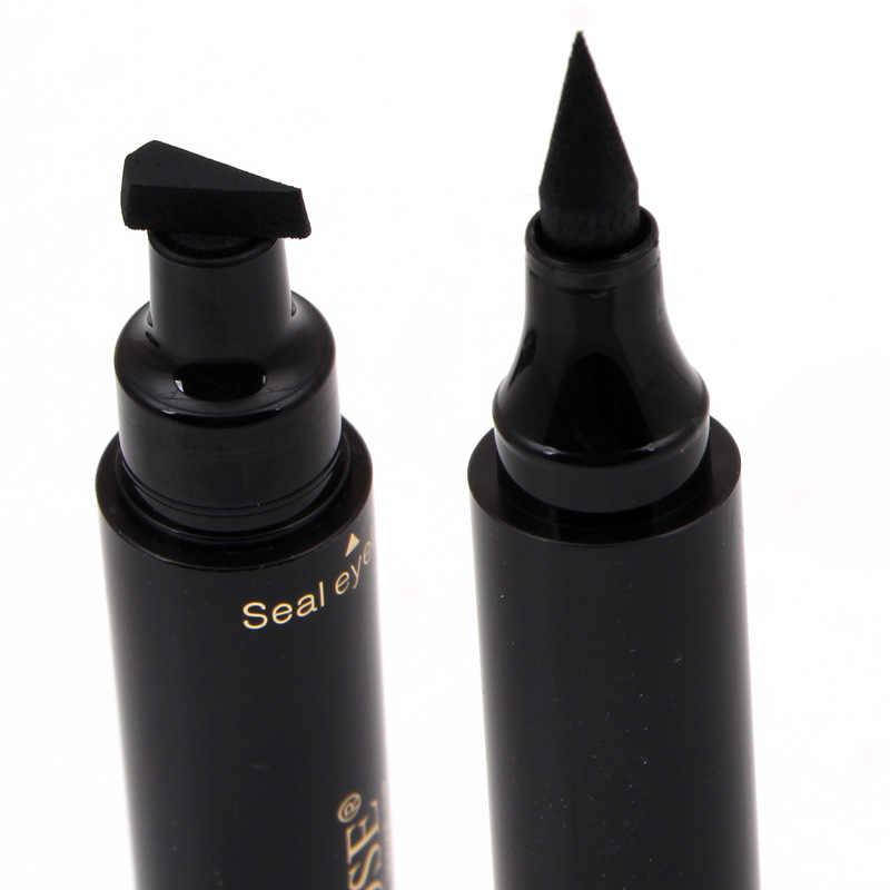 MISS ROSE maquillage professionnel imperméable Eyeliner timbre crayons longue durée noir oeil de chat aile Eyeliner autocollants outils de beauté