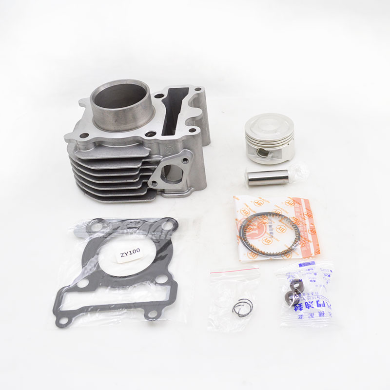 2sets/lot 2088 High Quality Motorcycle Cylinder Kit For Yamaha ZY100 RSZ100 RS100 JOG100 ZY RS JOG 100 100cc Engine Spare Parts high quality motorcycle cylinder kit for yamaha majesty yp250 yp 250 250cc engine spare parts page 7
