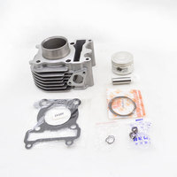 2sets/lot 2088 High Quality Motorcycle Cylinder Kit For Yamaha ZY100 RSZ100 RS100 JOG100 ZY RS JOG 100 100cc Engine Spare Parts