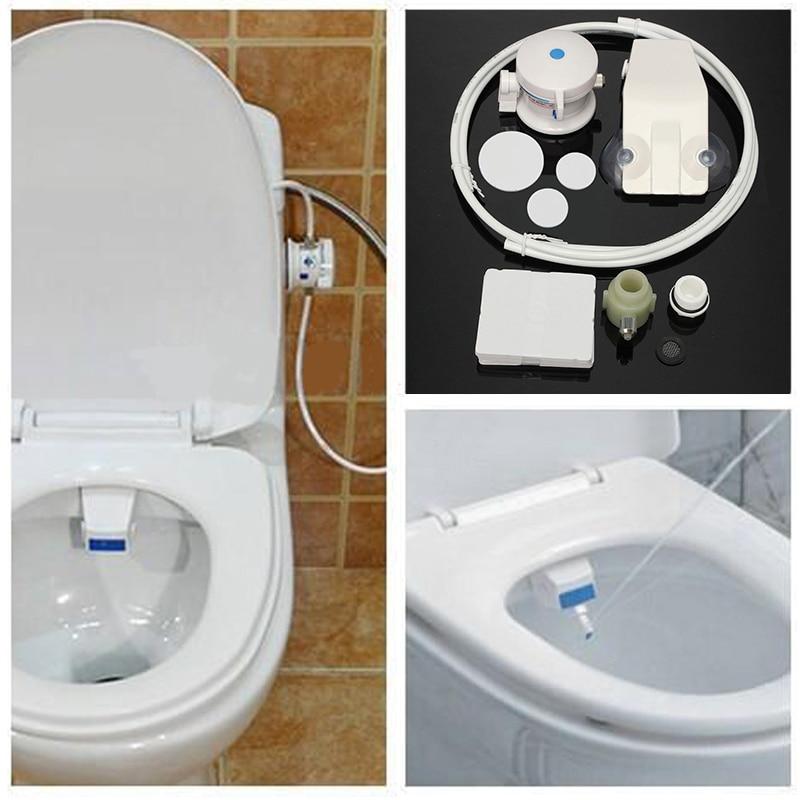 Unisex Bathroom Smart Toilet Bidet Hygiene Water Washing Gun Toilet  Flushing Sanitary Bidet Seat WC Bidet