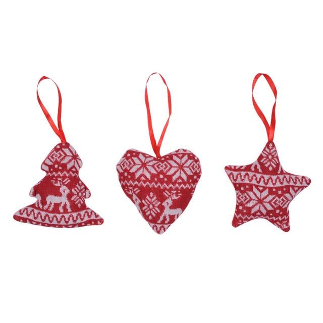 Schmuck Weihnachten.Us 2 11 35 Off 3 Teile Los Weihnachten Süße Herz Stern Schneemann Geformt Schmuck Weihnachten Multicolor Ornamente Home Party Festival Weihnachten