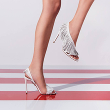 цена на New Summer Gladiator Women Sandals Fringe High Heels Shoes Woman Female Dancing Party Pumps Peep Toe Shoes sandalias mujer 2019