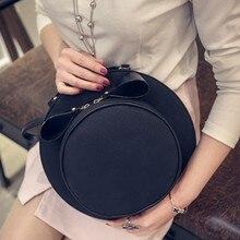Frauen tasche Hut tasche kleine runde taschen fedoras taschen für damen multifunktionale schulter kreuzkörper handtasche der frauen bolsa mujer