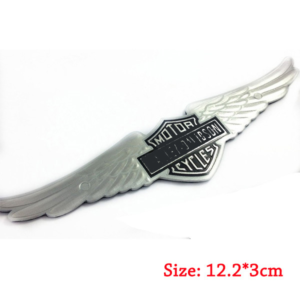 Bendable Alloy Emblem Sticker Fit For HarleyDavidson Motorcycle - Stickers for motorcycles harley davidsonsmotorcycle decals and stickers