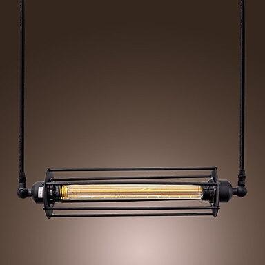 40 W Retro Design di Stile Industriale Dellannata Lampade A Sospensione con Lampada Loft Bar Luce Altalena40 W Retro Design di Stile Industriale Dellannata Lampade A Sospensione con Lampada Loft Bar Luce Altalena