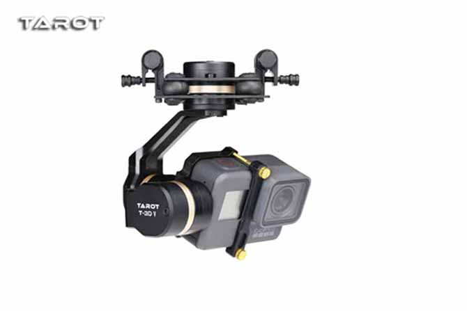 Tarot GOPRO 3D Metal 3axis gimbal Lightweight stability camera mount TL3T05 Designed for GOPRO HERO 5 dji phantom 2 build in naza gps with zenmuse h3 3d 3 axis gimbal for gopro hero 3 camera