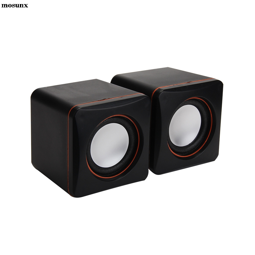 mosunx New Mini Portable USB Multimedia Computer Laptop Audio Sounder Speaker Drop Shipping