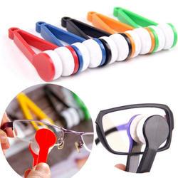 Очки солнцезащитные очки дорожные аксессуары Чистка Brushin Strument 5 видов цветов мини-универсальные упаковочные органайзеры компактное, из