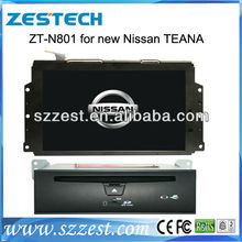 ZESTECH car dvd player for Nissan Teana DVD with bulit-in GPS navigation MP3 bluetooth