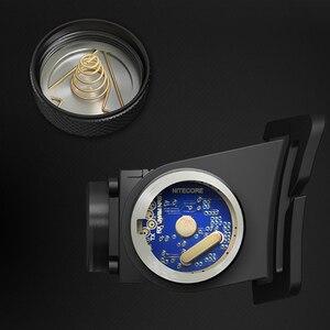 Image 5 - 20% OFF NITECORE HC60ไฟหน้าCREE XM L2 U2 1000LMชาร์จไฟฉายกันน้ำ3400MAh 18650แบตเตอรี่NL1834จัดส่งฟรี