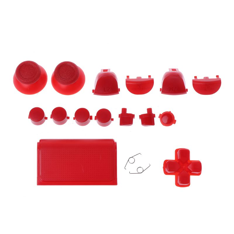 Full Sets Replacement Parts Buttons for PlayStation 4 Dualshock 4 PS4 PRO  Controller JDM JDS 040 R2 L2 R1 L1