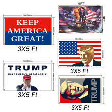 5x3 Feet Trump 2020 Flags And Banners Keep America Great Donald Election Banner Flag