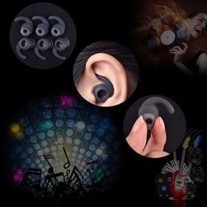Image 2 - 3 ペア/ロットソフトシリコンイヤーパッドのイヤフォンイヤホンシリコーンケース耳フックin 耳イヤフォンイヤホンアクセサリー耳ヒント