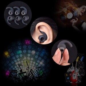 Image 2 - 3 par/partia miękkie silikonowe wkładki do uszu wkładki douszne do słuchawek silikonowe etui zaczep na ucho słuchawki douszne akcesoria końcówki słuchawek dousznych