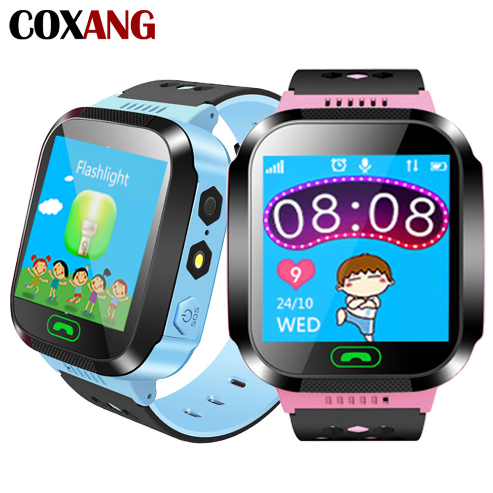 COXNAG Baby Smart Watch Q528 For Children Baby Kids Watch Phone Sim Dial Call SOS LBS Location Tracker Alarm Clock Smartwatches