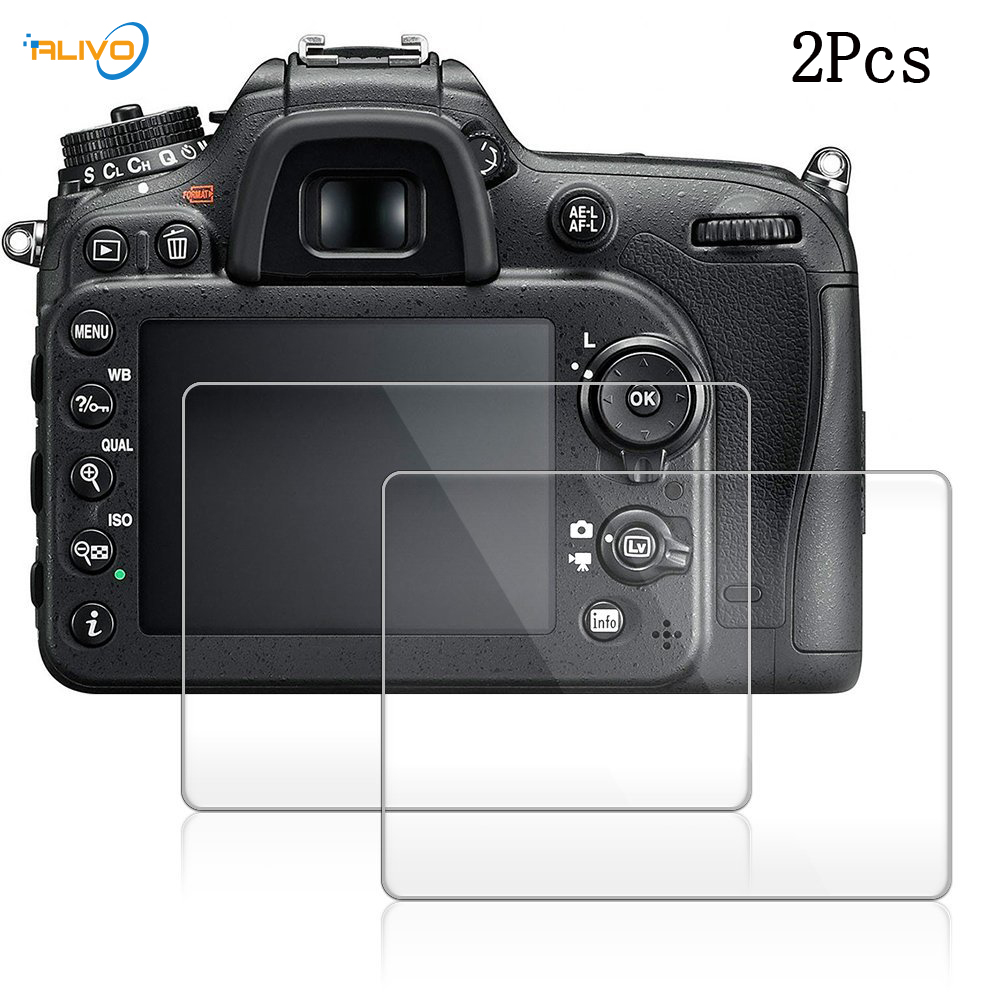 HD LCD Ultra-thin 9H Tempered Optical Glass Camera Screen Protector Protection Film For Nikon D5300 D5500 D7100 D7200 D750 D3200