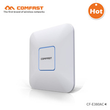 1750M Gigabit AC wifi router 2.4GHz 5G dual-band Wifi Access Point AP POE router CF-E380AC wireless ceiling AP support openWRT