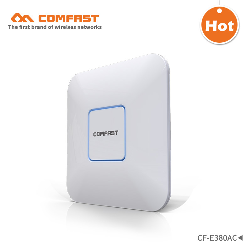 все цены на 1750M Gigabit AC wifi router 2.4GHz 5G dual-band Wifi Access Point AP POE router CF-E380AC wireless ceiling AP support openWRT онлайн