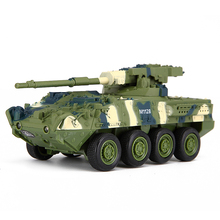 RC Tank Magical Prestige/8021 RC Tank Stryker vehicle Car Electronic Remote Control Tank Car Military Model Toys
