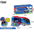 PJ Cartoon Mask Big Mission Car With Connor Greg Amaya 3 Racing Car Anime Figure Toy Les Pyjamasques Children Jouet Gift