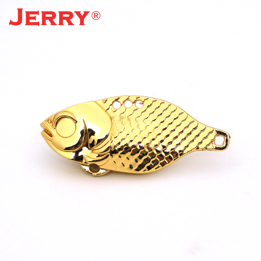 Jerry 10pcs 14.5g/10g/6.3g/4.4g fishing <font><b>blanks</b></font> <font><b>lure</b></font> sinkking lipless crank metal blade bait Vibration VIBE Alloy Tungsten pesca image