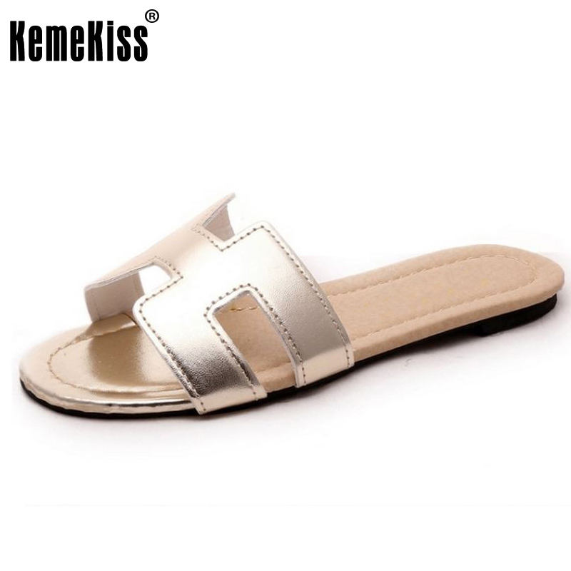 new arrival brand Soft Patent Leather Women Flats Sandals Loafers Slippers Shoes For Women Flip Flops  size 35-40 WC0148 2016 genuine leather sandal shoes brand designer beach flip flops slippers male flat sandals for men 38 44 size