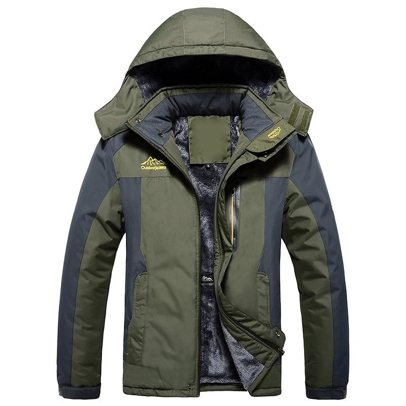 HTB1bavNe21G3KVjSZFkq6yK4XXaN LBL Winter Men Jackets Thick Mens Hiking Jacket Casual Outwear Warm Hooded Coat Man Windproof Overcoat Homme Outdoor Fashion Top