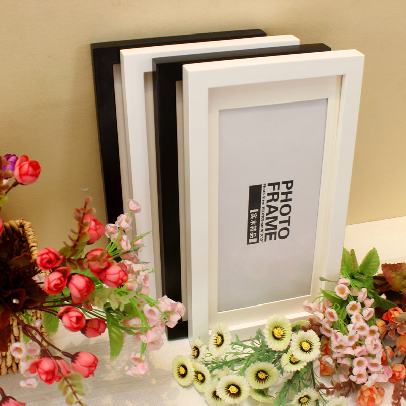 frame 6x12 8x12 inch wood frame swing hanging straight graduation photo picture frames wholesalechina