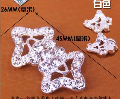 Apparel Sewing & Fabric Just Hot High Grade Button Diamond Buckle Mink Fur Mink Coat Mink Hair Button Drill Buckle Charm For Fashion Charm On The Buckle Show