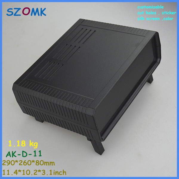 plastic electronics enclosure pcb enclosure (1 pcs) 290*260*80mm desk top project enclosure electronical junction box szomk electronic project enclosure junction box 1 pcs 260 220 80mm plastic box enclosure desktop electric distribution box