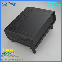 plastic electronics enclosure pcb enclosure (1 pcs) 290*260*80mm desk top project enclosure electronical junction box