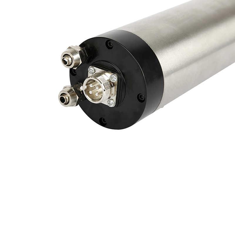 1.5KW 220 V 65mm broche refroidi à l'eau Kit er11 moteur de broche de fraisage + 75 W 3.2 M pompe à eau + 5 M conduites d'eau.